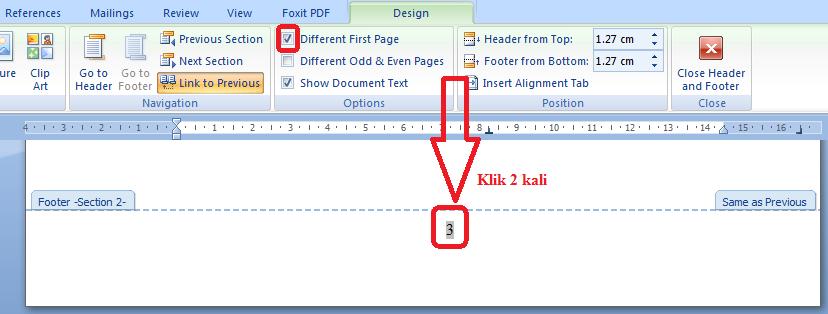 Cara membuat halaman kosong