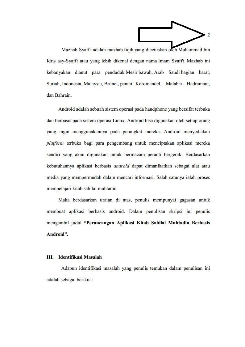 Contoh proposal skripsi hal 2