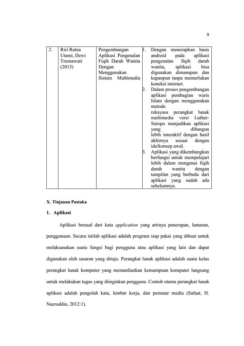 Contoh proposal skripsi hal 9